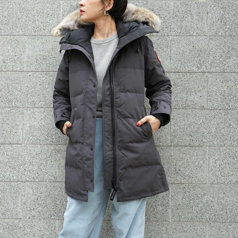 <img class='new_mark_img1' src='//img.shop-pro.jp/img/new/icons50.gif' style='border:none;display:inline;margin:0px;padding:0px;width:auto;' />[CANADA GOOSE] カナダグース SHELBURNE PARKA FF 3802LA (GRAY)