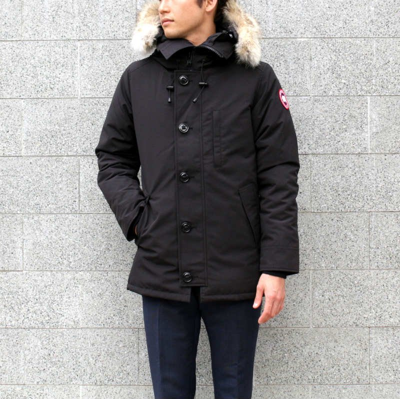 <img class='new_mark_img1' src='//img.shop-pro.jp/img/new/icons56.gif' style='border:none;display:inline;margin:0px;padding:0px;width:auto;' />[CANADA GOOSE] カナダグース CHATEAU PARKA FF 3426MA (BLACK)
