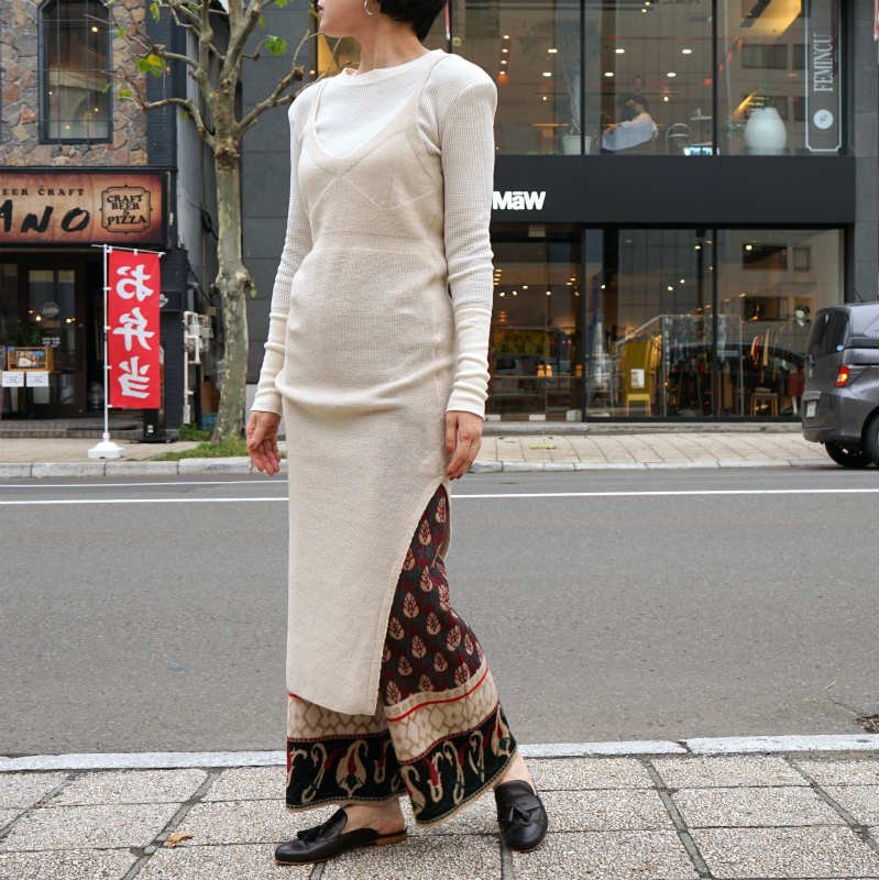 <img class='new_mark_img1' src='//img.shop-pro.jp/img/new/icons6.gif' style='border:none;display:inline;margin:0px;padding:0px;width:auto;' />[TAN] タン HF LONG DRESS (BEIGE)