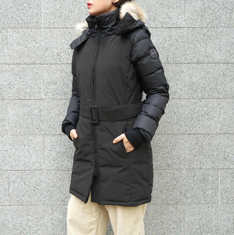 <img class='new_mark_img1' src='https://img.shop-pro.jp/img/new/icons50.gif' style='border:none;display:inline;margin:0px;padding:0px;width:auto;' />[CANADA GOOSE] カナダグース ROWAN PARKA 3202LB(BLACK)