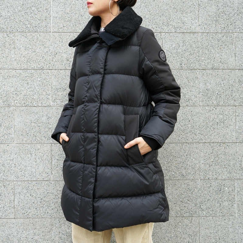 <img class='new_mark_img1' src='https://img.shop-pro.jp/img/new/icons50.gif' style='border:none;display:inline;margin:0px;padding:0px;width:auto;' />[CANADA GOOSE] カナダグース ALTONA PARKA 3207LB(BLACK)