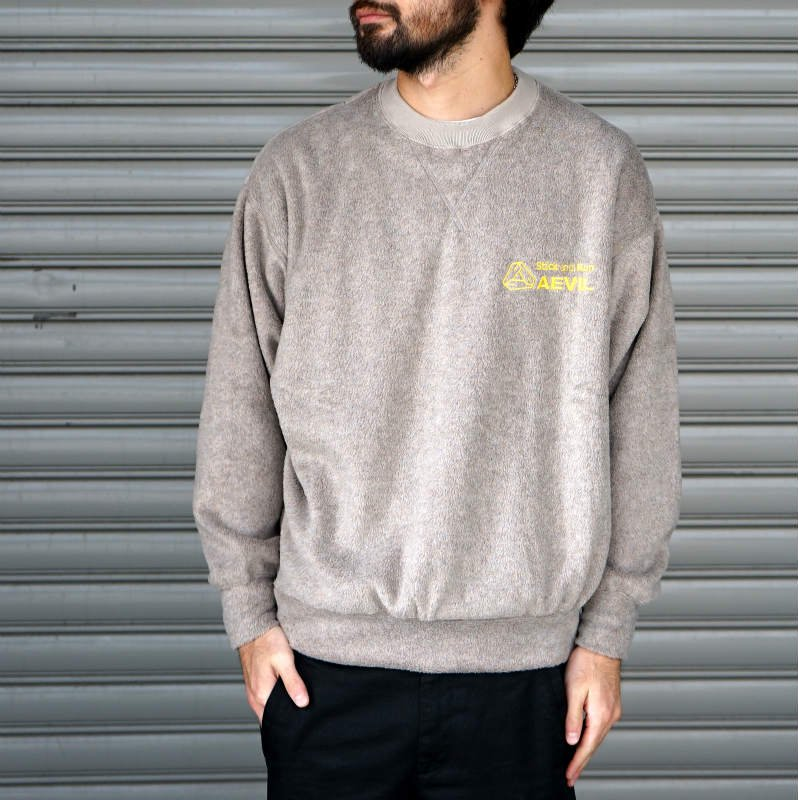 <img class='new_mark_img1' src='//img.shop-pro.jp/img/new/icons8.gif' style='border:none;display:inline;margin:0px;padding:0px;width:auto;' />[O-] オー  FLEECE SWEAT SHIRT  (Gray)
