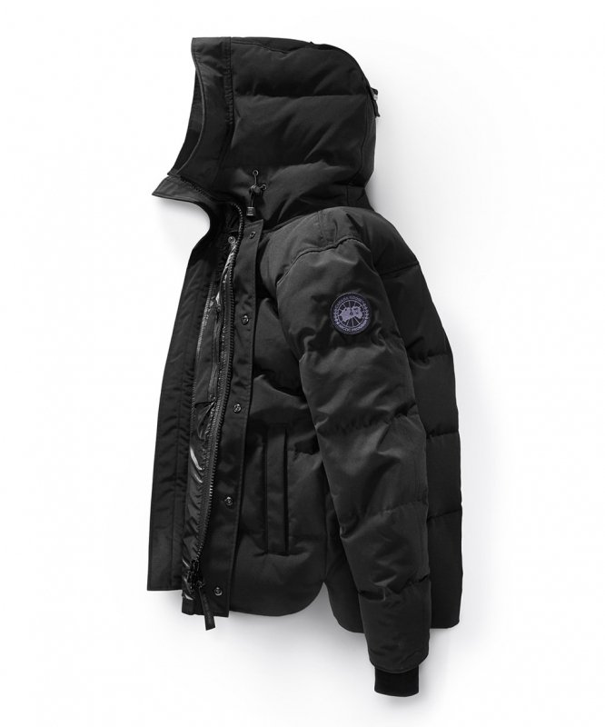<img class='new_mark_img1' src='//img.shop-pro.jp/img/new/icons50.gif' style='border:none;display:inline;margin:0px;padding:0px;width:auto;' />[CANADA GOOSE] カナダグース MACMILLIAN PARKA BLACK LABEL 3804MB (BLACK)