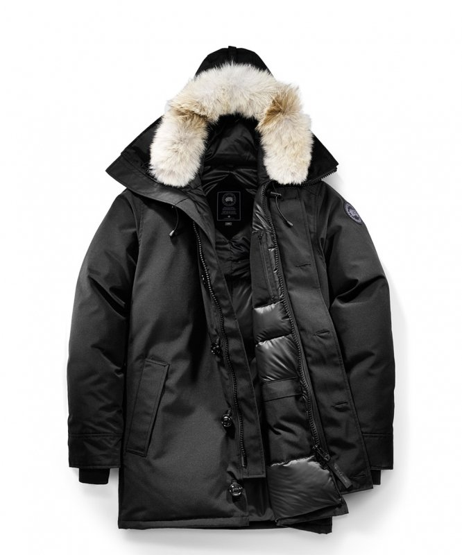 <img class='new_mark_img1' src='https://img.shop-pro.jp/img/new/icons50.gif' style='border:none;display:inline;margin:0px;padding:0px;width:auto;' />[CANADA GOOSE] カナダグース CHATEAU PARKA BLACK LABEL 3426MB (BLACK)
