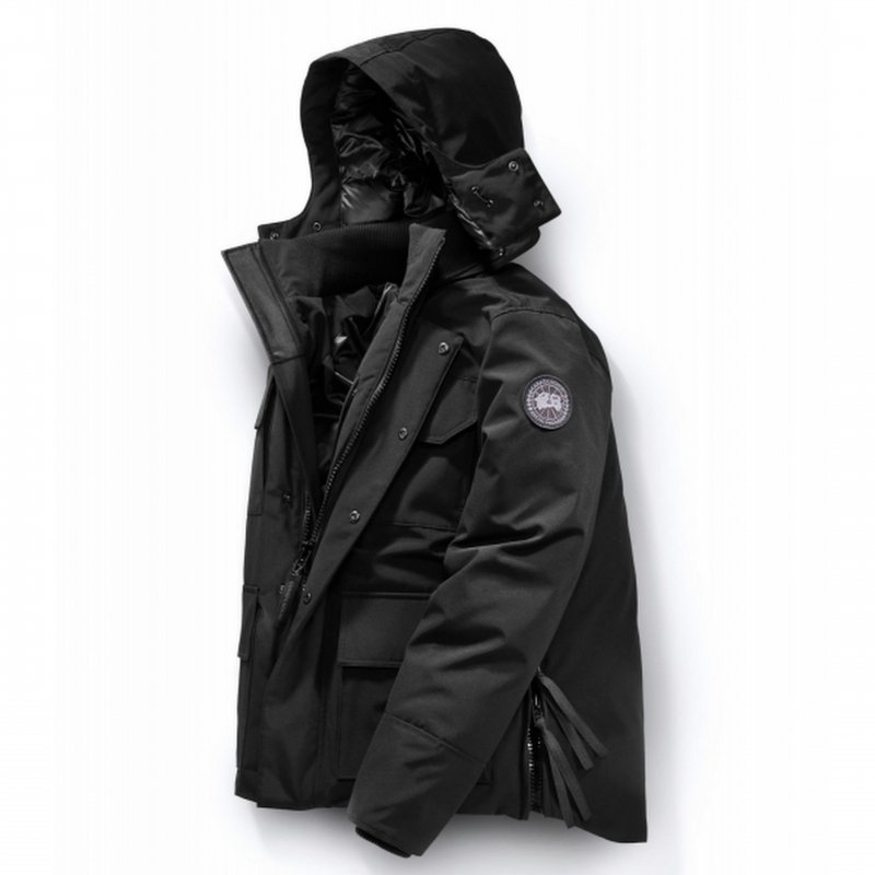 <img class='new_mark_img1' src='https://img.shop-pro.jp/img/new/icons50.gif' style='border:none;display:inline;margin:0px;padding:0px;width:auto;' />[CANADA GOOSE] カナダグース MAITLAND PARKA  BLACK LABEL 4550MB (BLACK)