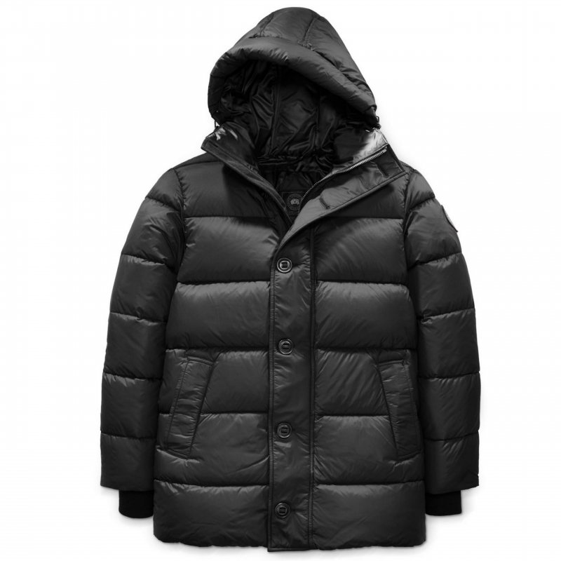 <img class='new_mark_img1' src='https://img.shop-pro.jp/img/new/icons50.gif' style='border:none;display:inline;margin:0px;padding:0px;width:auto;' />[CANADA GOOSE] カナダグース  VERNON PARKA BLACK LABEL 2605MB (BLACK)