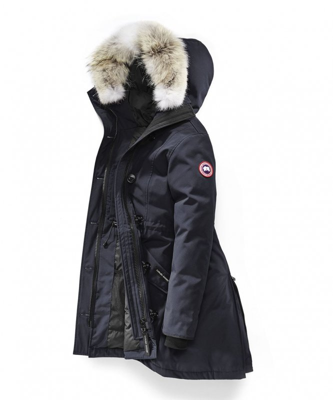 <img class='new_mark_img1' src='https://img.shop-pro.jp/img/new/icons50.gif' style='border:none;display:inline;margin:0px;padding:0px;width:auto;' />[CANADA GOOSE] カナダグース ROSSCLAIR PARKA FF 2580LA (NAVY)