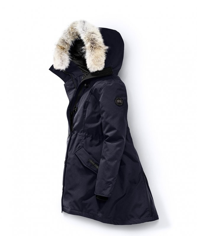 <img class='new_mark_img1' src='https://img.shop-pro.jp/img/new/icons50.gif' style='border:none;display:inline;margin:0px;padding:0px;width:auto;' />[CANADA GOOSE] カナダグース ROSSCLAIR PARKA BLACK LABEL 2580LB (INDIGO)