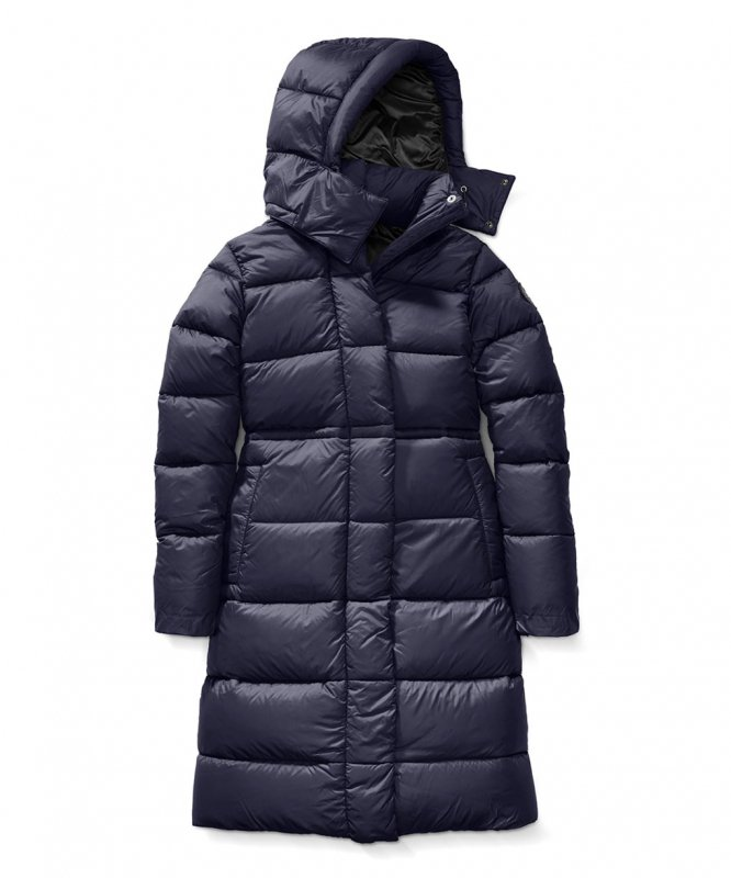 <img class='new_mark_img1' src='https://img.shop-pro.jp/img/new/icons50.gif' style='border:none;display:inline;margin:0px;padding:0px;width:auto;' />[CANADA GOOSE] カナダグース AROSA PARKA BLACK LABEL 2608LB(INDIGO)
