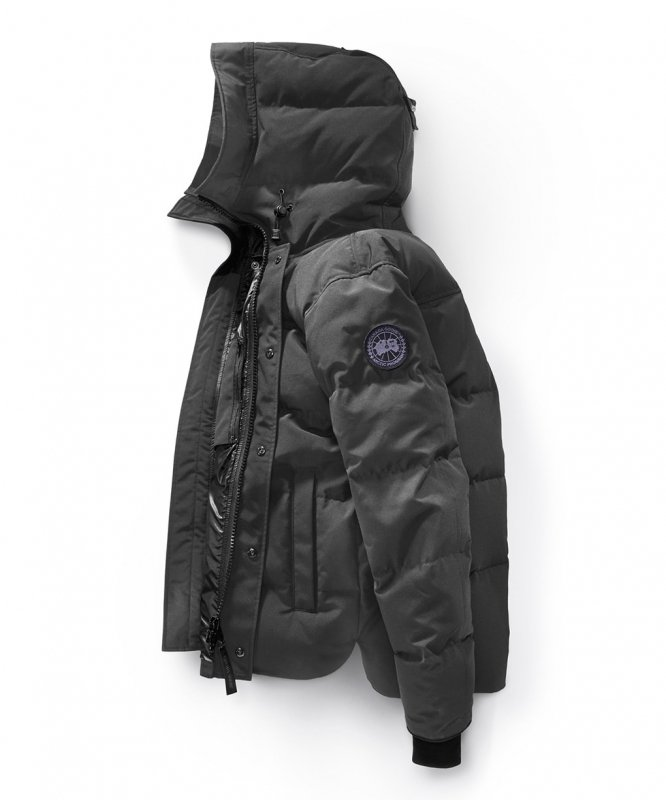<img class='new_mark_img1' src='//img.shop-pro.jp/img/new/icons50.gif' style='border:none;display:inline;margin:0px;padding:0px;width:auto;' />[CANADA GOOSE] カナダグース MACMILLIAN PARKA BLACK LABEL 3804MB (GRAPHITE)