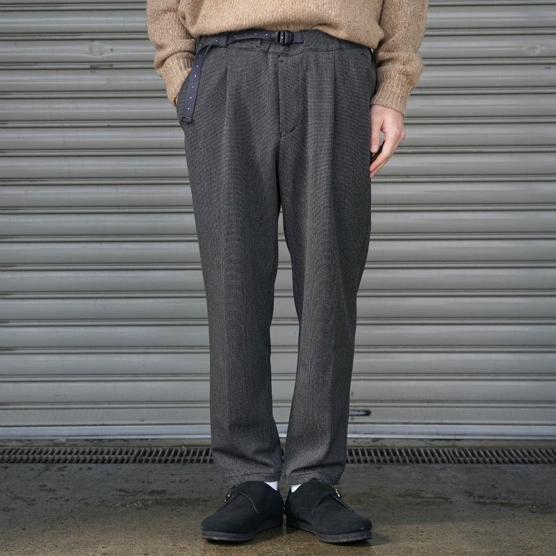 <img class='new_mark_img1' src='//img.shop-pro.jp/img/new/icons50.gif' style='border:none;display:inline;margin:0px;padding:0px;width:auto;' />[O-] オー NARROW EASY TROUSERS (Pinhead)