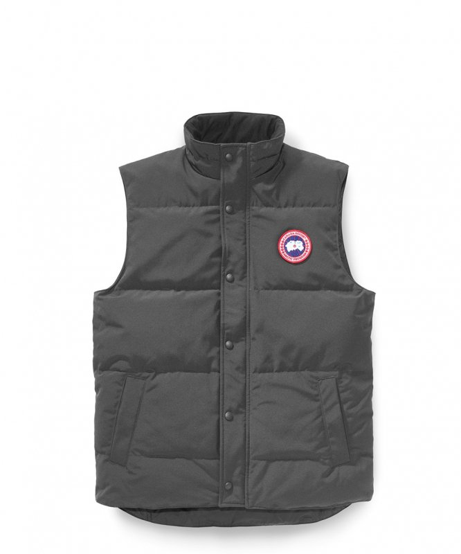 <img class='new_mark_img1' src='https://img.shop-pro.jp/img/new/icons8.gif' style='border:none;display:inline;margin:0px;padding:0px;width:auto;' />[CANADA GOOSE] カナダグース FREESTYLE CREW VEST 4151M (GRAPHITE)