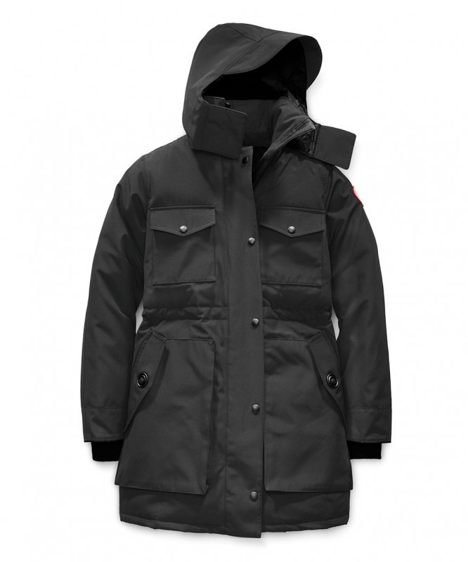 <img class='new_mark_img1' src='https://img.shop-pro.jp/img/new/icons50.gif' style='border:none;display:inline;margin:0px;padding:0px;width:auto;' />[CANADA GOOSE] カナダグース GABRIOLA PARKA 5806L (BLACK)