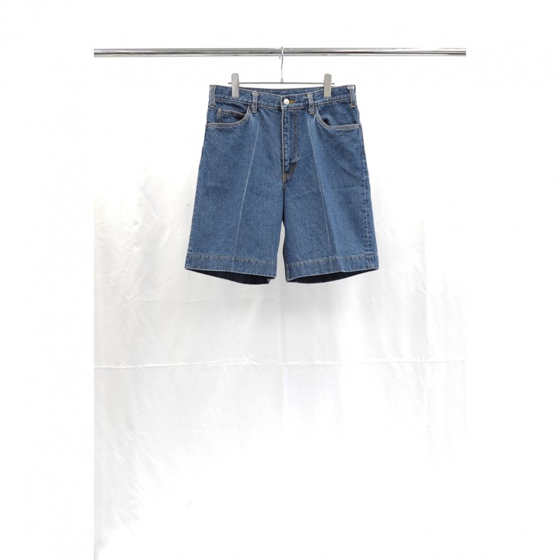 <img class='new_mark_img1' src='https://img.shop-pro.jp/img/new/icons8.gif' style='border:none;display:inline;margin:0px;padding:0px;width:auto;' />[URU TOKYO] ウル DENIM SHORTS (TYPE A)  (L.INDIGO) 19SUP12A