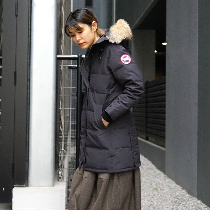 <img class='new_mark_img1' src='https://img.shop-pro.jp/img/new/icons50.gif' style='border:none;display:inline;margin:0px;padding:0px;width:auto;' />[CANADA GOOSE] カナダグース SHELBURNE PARKA FF 3802LA (NAVY)