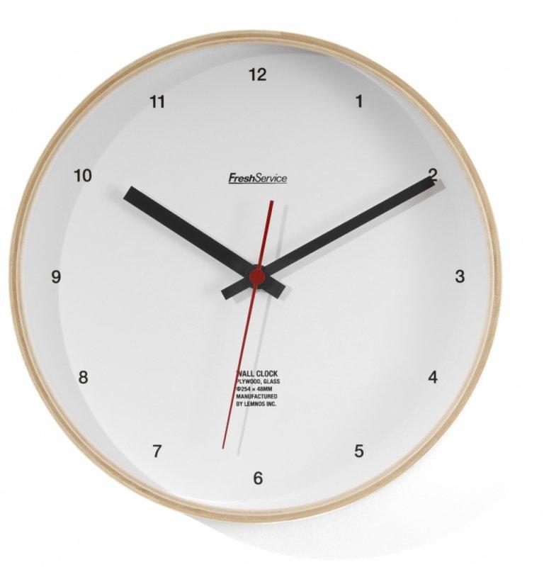 <img class='new_mark_img1' src='https://img.shop-pro.jp/img/new/icons56.gif' style='border:none;display:inline;margin:0px;padding:0px;width:auto;' />[FreshService] フレッシュサービス FreshService Wall Clock (WHITE・KHAKI)