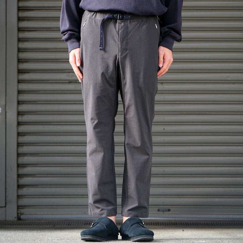 [O-] オー Narrow Easy Pants (Charcoal)