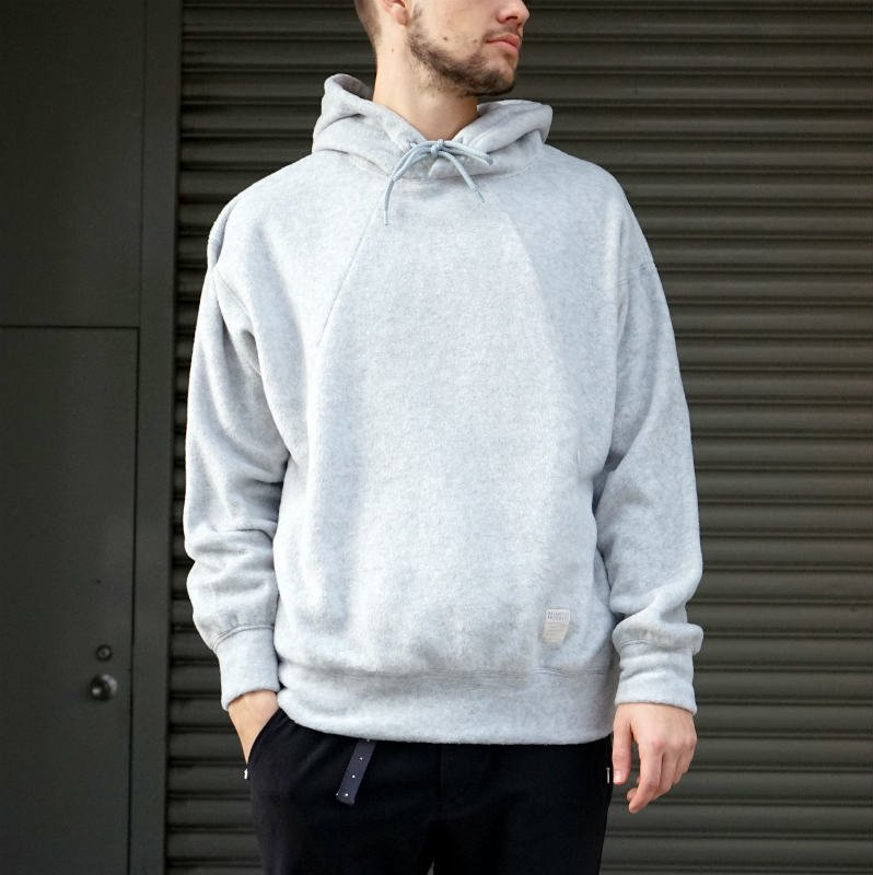 <img class='new_mark_img1' src='https://img.shop-pro.jp/img/new/icons8.gif' style='border:none;display:inline;margin:0px;padding:0px;width:auto;' />[O-] オー  WRITERS HOODIE  (Heather gray)