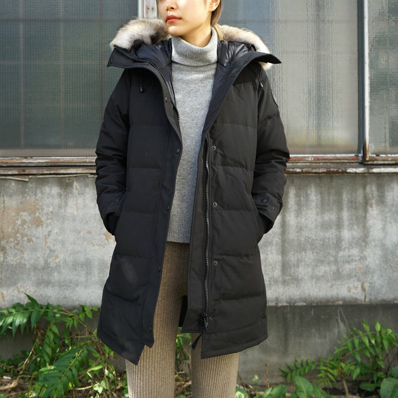<img class='new_mark_img1' src='https://img.shop-pro.jp/img/new/icons50.gif' style='border:none;display:inline;margin:0px;padding:0px;width:auto;' />[CANADA GOOSE] カナダグース SHELBURNE PARKA BLACK LABEL 3802LB (BLACK)
