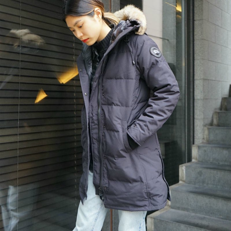 <img class='new_mark_img1' src='https://img.shop-pro.jp/img/new/icons50.gif' style='border:none;display:inline;margin:0px;padding:0px;width:auto;' />[CANADA GOOSE] カナダグース SHELBURNE PARKA BLACK LABEL 3802LB (NAVY)