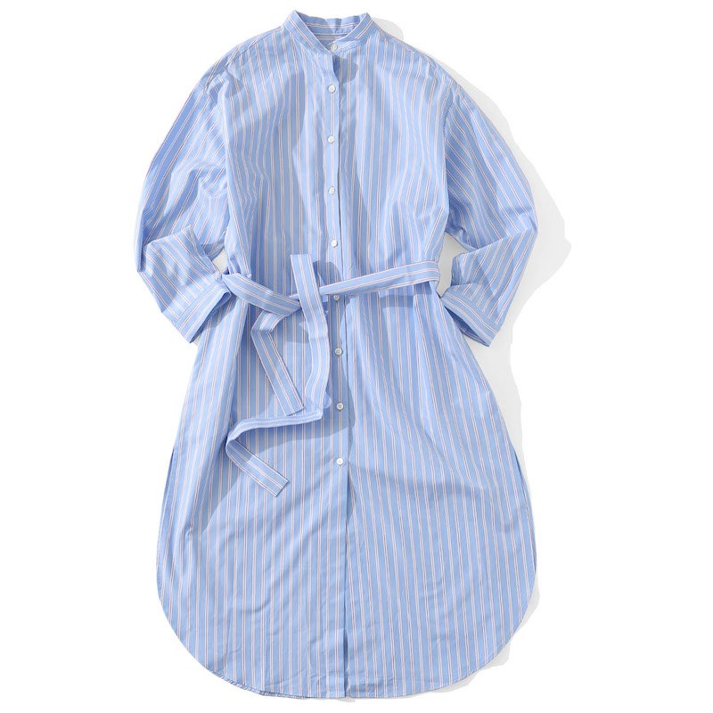 <img class='new_mark_img1' src='https://img.shop-pro.jp/img/new/icons24.gif' style='border:none;display:inline;margin:0px;padding:0px;width:auto;' />[SALE] [MY] マイ STRIPE SHIRT ONE PIECE (WHITE STRIPE・SAX STRIPE) 201-61307