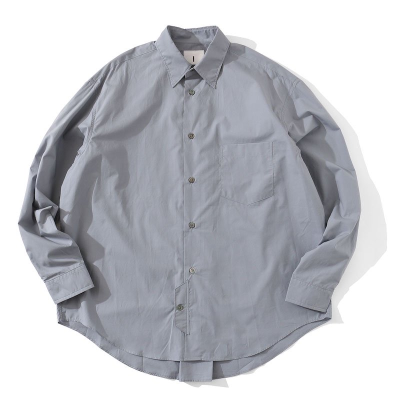 <img class='new_mark_img1' src='https://img.shop-pro.jp/img/new/icons8.gif' style='border:none;display:inline;margin:0px;padding:0px;width:auto;' />[I] アイ OFFICER SHIRT (SAND・GRAY) 201-20303