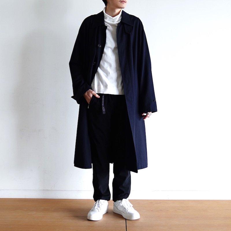 <img class='new_mark_img1' src='https://img.shop-pro.jp/img/new/icons24.gif' style='border:none;display:inline;margin:0px;padding:0px;width:auto;' />[SALE] [1LDK別注] [URU TOKYO] ウル BALMACAAN COAT ( NAVY ) 20SCR01-1LDK