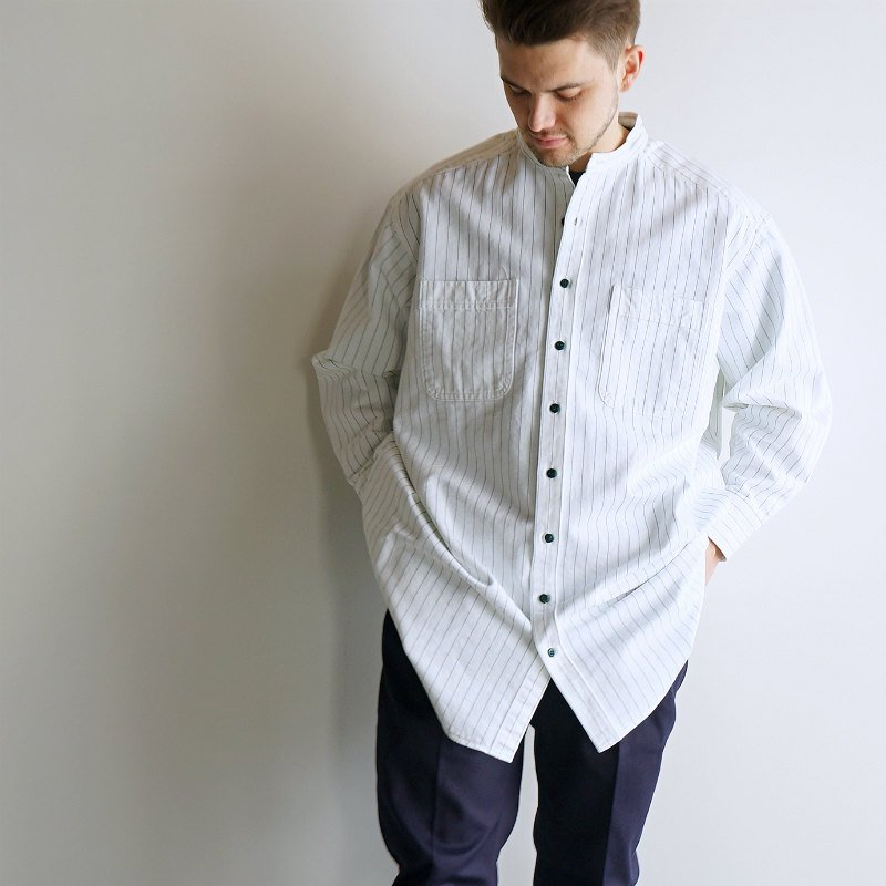 <img class='new_mark_img1' src='https://img.shop-pro.jp/img/new/icons8.gif' style='border:none;display:inline;margin:0px;padding:0px;width:auto;' />[DRESS] ドレス Non Standard Shirt  (WHITE)