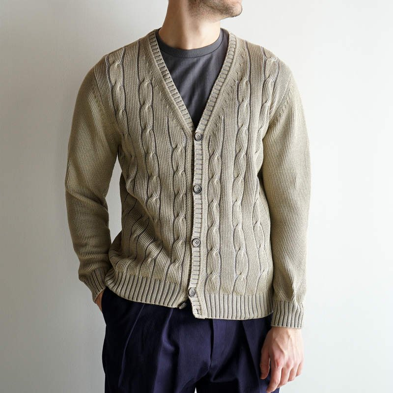 <img class='new_mark_img1' src='https://img.shop-pro.jp/img/new/icons8.gif' style='border:none;display:inline;margin:0px;padding:0px;width:auto;' />[DRESS] ドレス Officer Cardigan  (MOSS GREEN)
