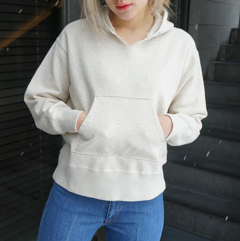 <img class='new_mark_img1' src='https://img.shop-pro.jp/img/new/icons6.gif' style='border:none;display:inline;margin:0px;padding:0px;width:auto;' />[PHEENY] フィーニー Hooded sweat shirt (OATMEAL)