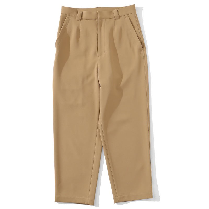 <img class='new_mark_img1' src='https://img.shop-pro.jp/img/new/icons24.gif' style='border:none;display:inline;margin:0px;padding:0px;width:auto;' />[SALE][I] アイ CROPPED UTILITY PANTS (BLACK・BEIGE) 201-20504