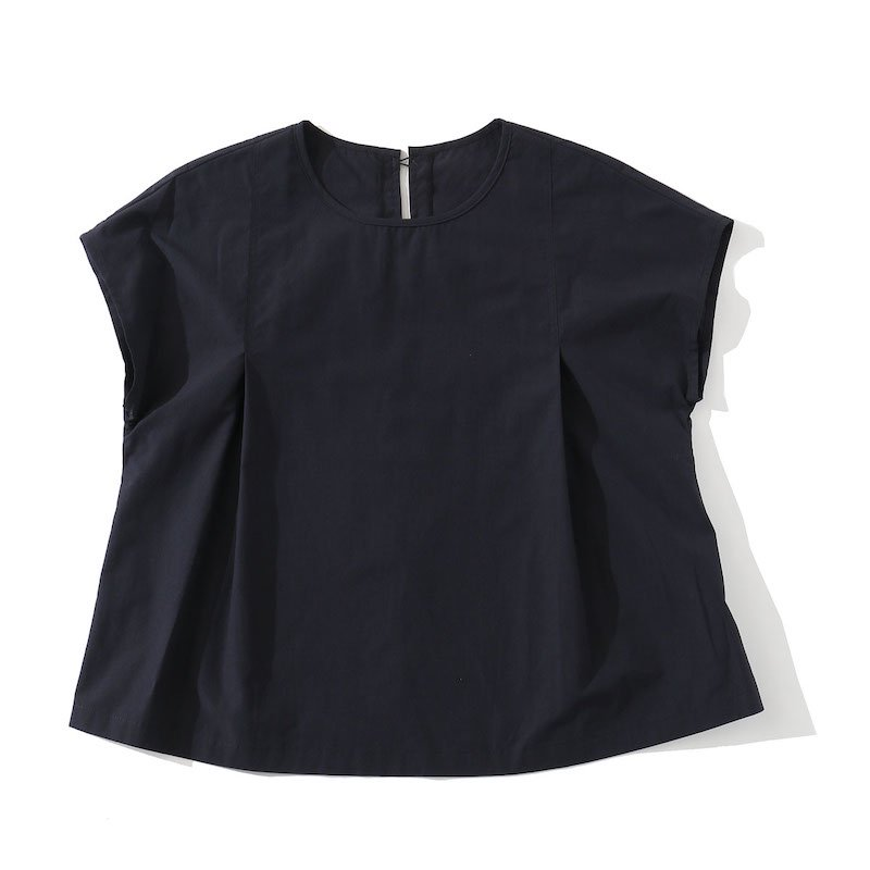 <img class='new_mark_img1' src='https://img.shop-pro.jp/img/new/icons24.gif' style='border:none;display:inline;margin:0px;padding:0px;width:auto;' />[SALE] [MY] マイ TACK BLOUSE (WHITE・NAVY) 201-61303