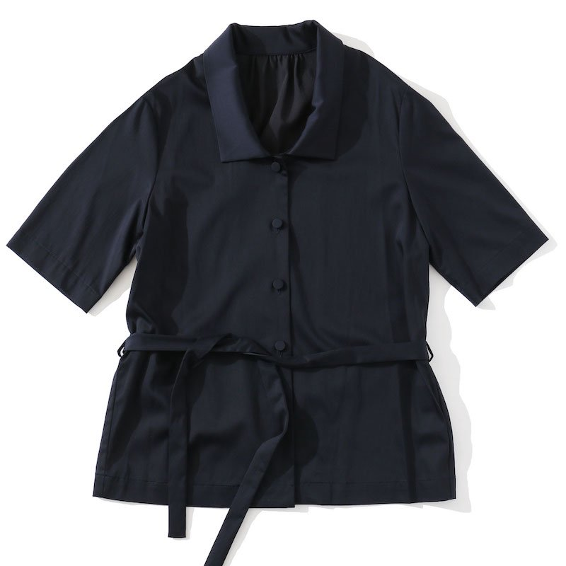<img class='new_mark_img1' src='https://img.shop-pro.jp/img/new/icons24.gif' style='border:none;display:inline;margin:0px;padding:0px;width:auto;' />[SALE] [MY] マイ LOOSE SHIRT (NAVY・BROWN) 201-61304