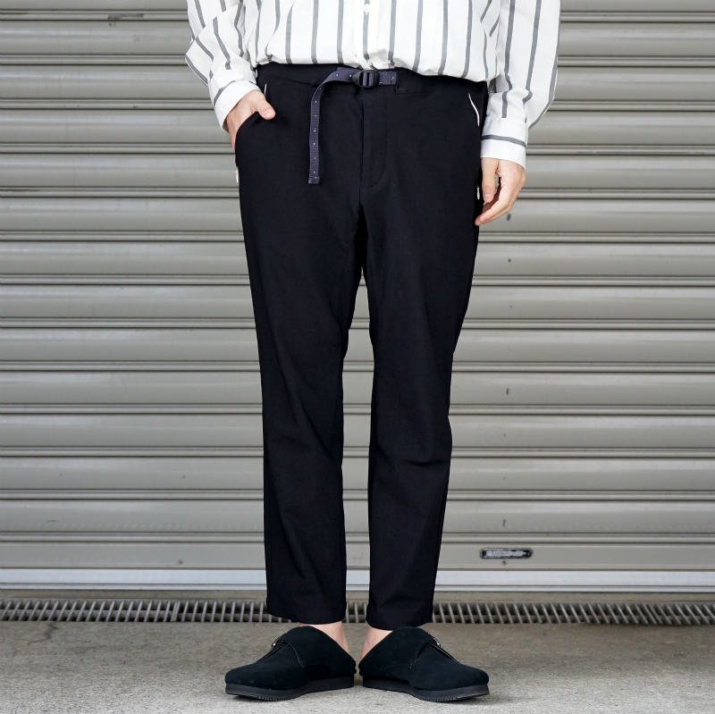 <img class='new_mark_img1' src='https://img.shop-pro.jp/img/new/icons50.gif' style='border:none;display:inline;margin:0px;padding:0px;width:auto;' />[O-] オー Narrow Easy Pants (BLACK)