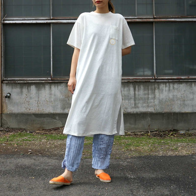 <img class='new_mark_img1' src='https://img.shop-pro.jp/img/new/icons6.gif' style='border:none;display:inline;margin:0px;padding:0px;width:auto;' />[WRYHT] ライト NECK TEE DRESS(BONE)