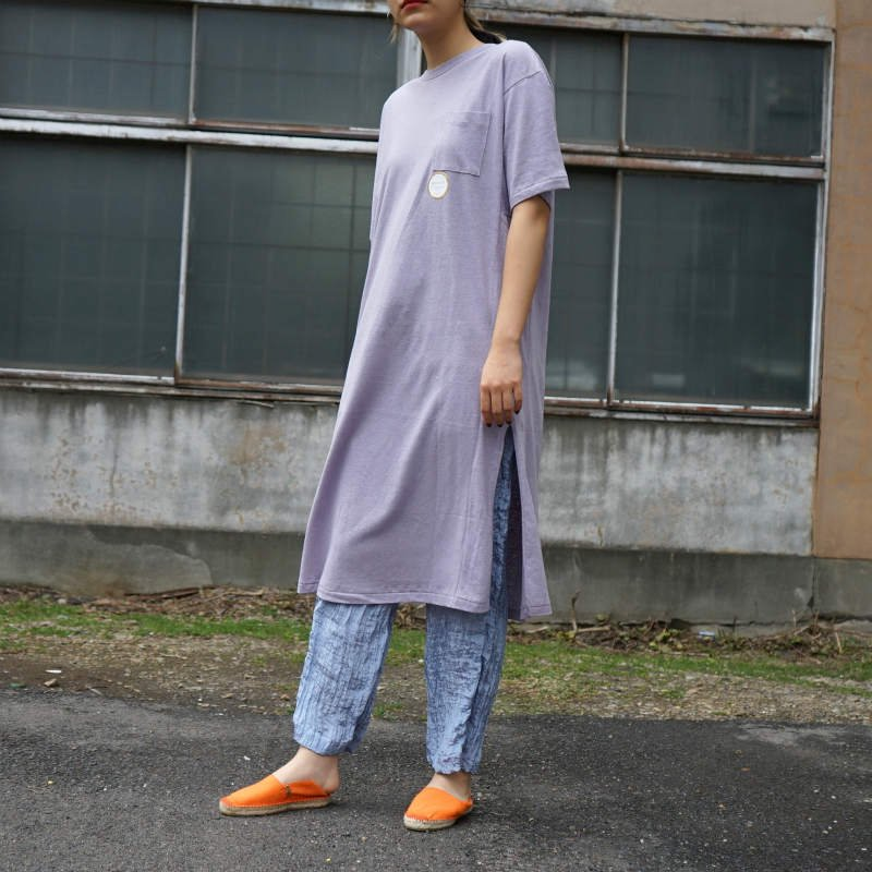 <img class='new_mark_img1' src='https://img.shop-pro.jp/img/new/icons6.gif' style='border:none;display:inline;margin:0px;padding:0px;width:auto;' />[WRYHT] ライト NECK TEE DRESS(HYDRANGEA)