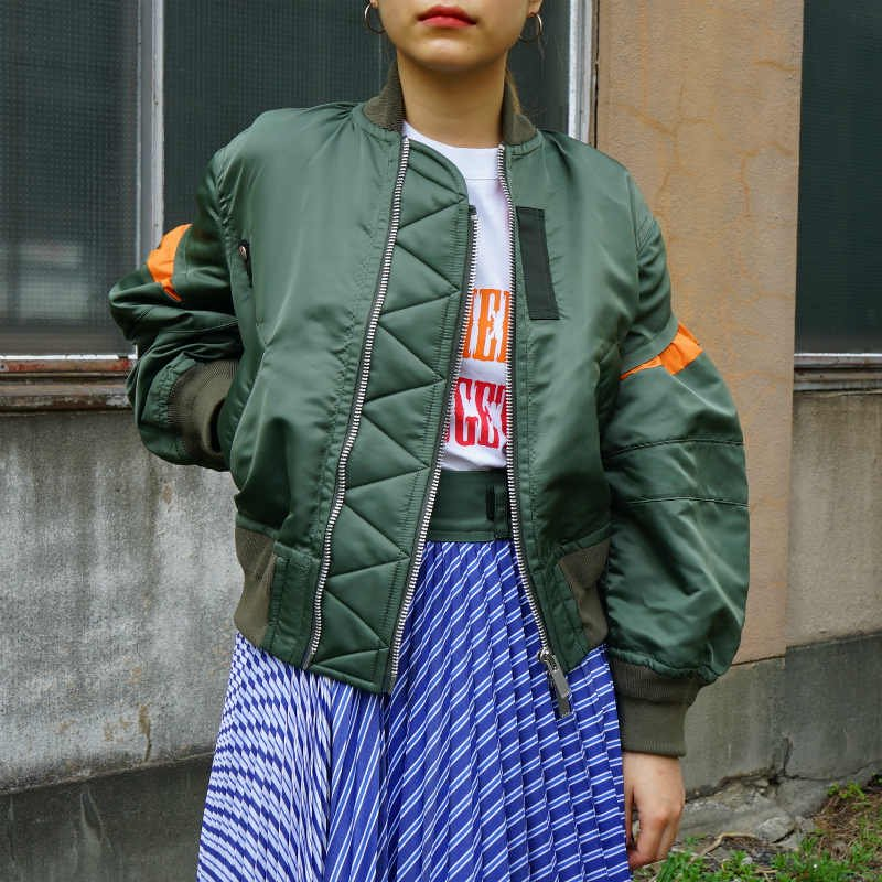 <img class='new_mark_img1' src='https://img.shop-pro.jp/img/new/icons6.gif' style='border:none;display:inline;margin:0px;padding:0px;width:auto;' />[sacai] サカイ 20-05020 2way Nylon Twill Blouson(KHAKI)