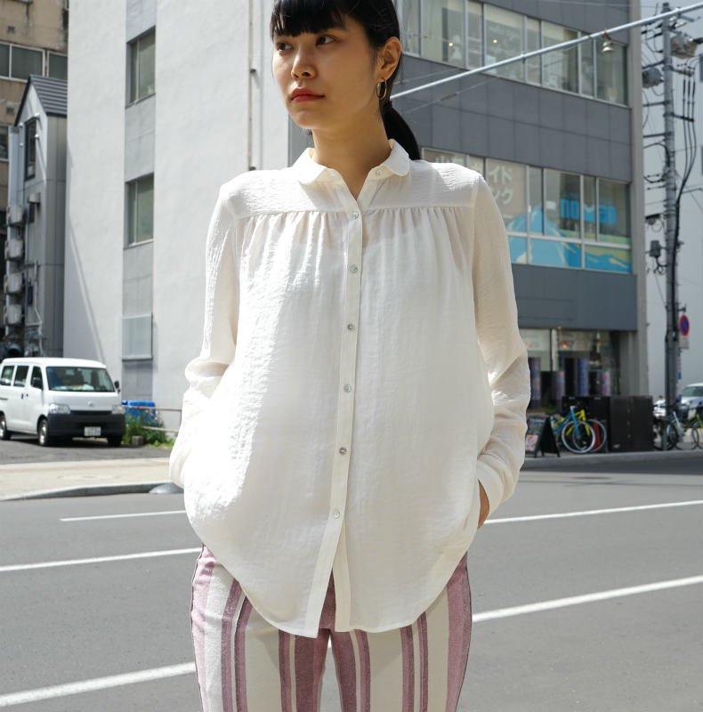 <img class='new_mark_img1' src='https://img.shop-pro.jp/img/new/icons6.gif' style='border:none;display:inline;margin:0px;padding:0px;width:auto;' />[MaW VINTAGE] Romantique Blouse