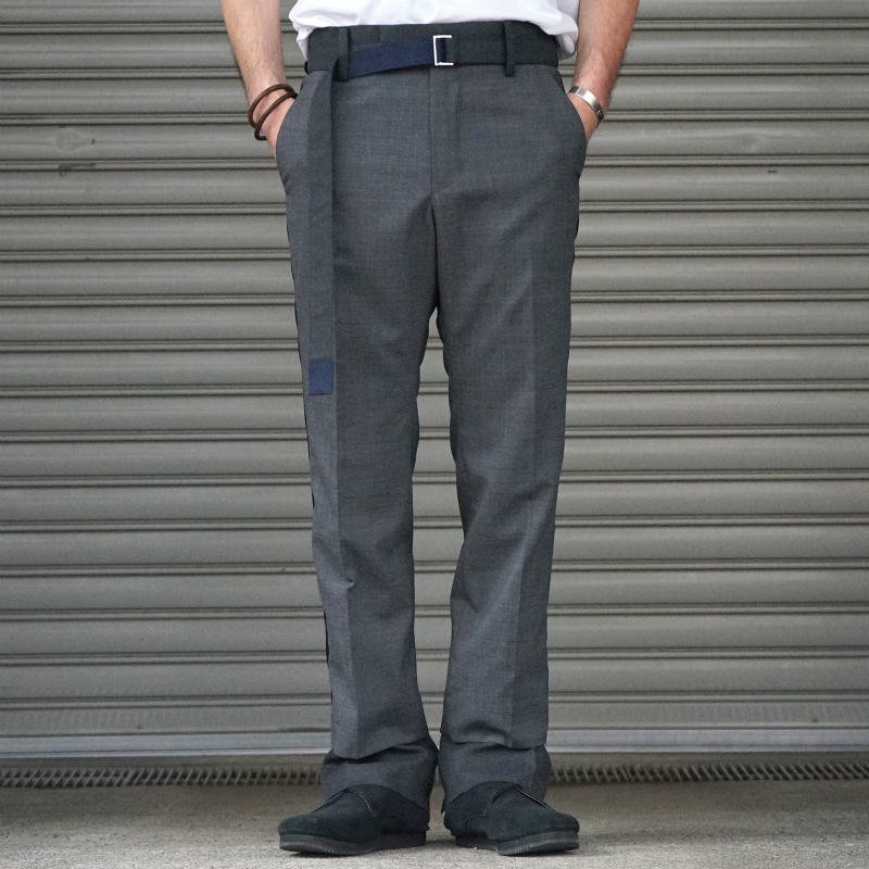<img class='new_mark_img1' src='https://img.shop-pro.jp/img/new/icons23.gif' style='border:none;display:inline;margin:0px;padding:0px;width:auto;' />[SALE][sacai] Suitiing Pants 20-02184M (C.GRAY)