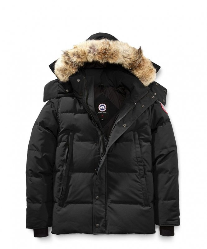 <img class='new_mark_img1' src='https://img.shop-pro.jp/img/new/icons8.gif' style='border:none;display:inline;margin:0px;padding:0px;width:auto;' />[CANADA GOOSE] カナダグース WYNDHAM PARKA FF 3808MA (BLACK)