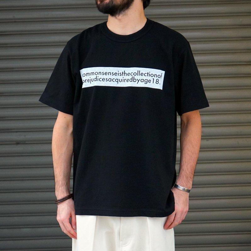 <img class='new_mark_img1' src='https://img.shop-pro.jp/img/new/icons6.gif' style='border:none;display:inline;margin:0px;padding:0px;width:auto;' />[sacai] サカイ 20-0116S Graphic T-Shirt (BLACK)