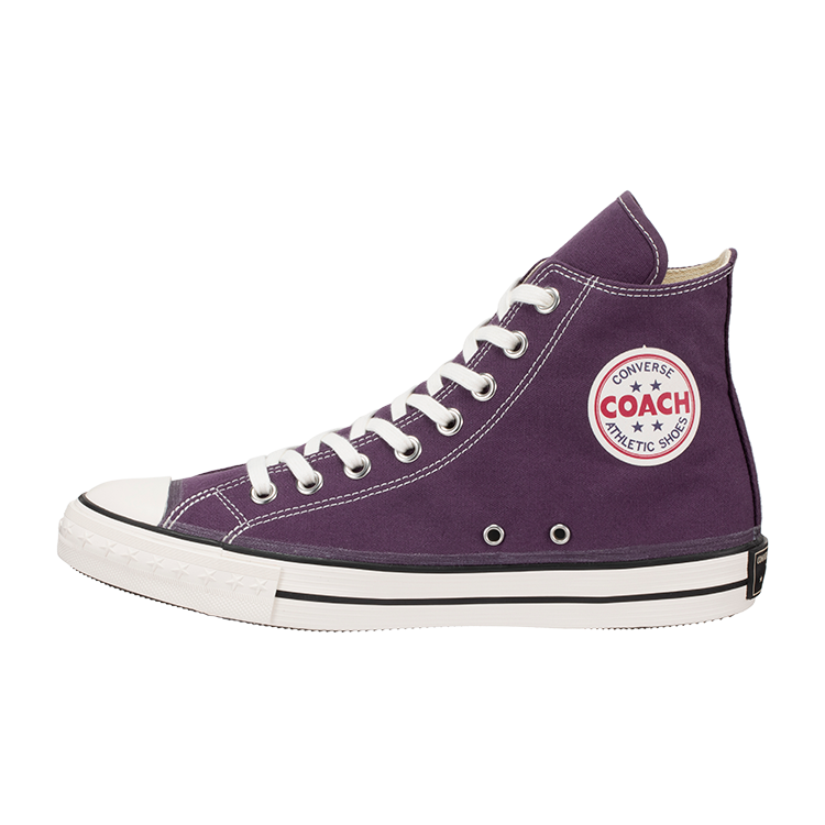 <img class='new_mark_img1' src='https://img.shop-pro.jp/img/new/icons8.gif' style='border:none;display:inline;margin:0px;padding:0px;width:auto;' />[CONVERSE ADDICT] コンバースアディクト COACH CANVAS HI (PURPLE)