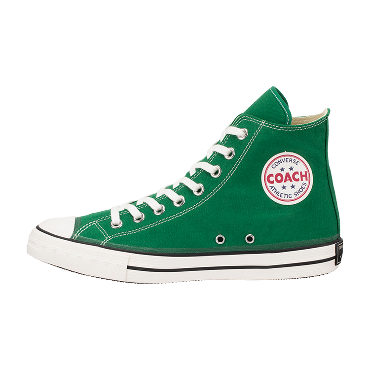 <img class='new_mark_img1' src='https://img.shop-pro.jp/img/new/icons8.gif' style='border:none;display:inline;margin:0px;padding:0px;width:auto;' />[CONVERSE ADDICT] コンバースアディクト COACH CANVAS HI (GREEN)