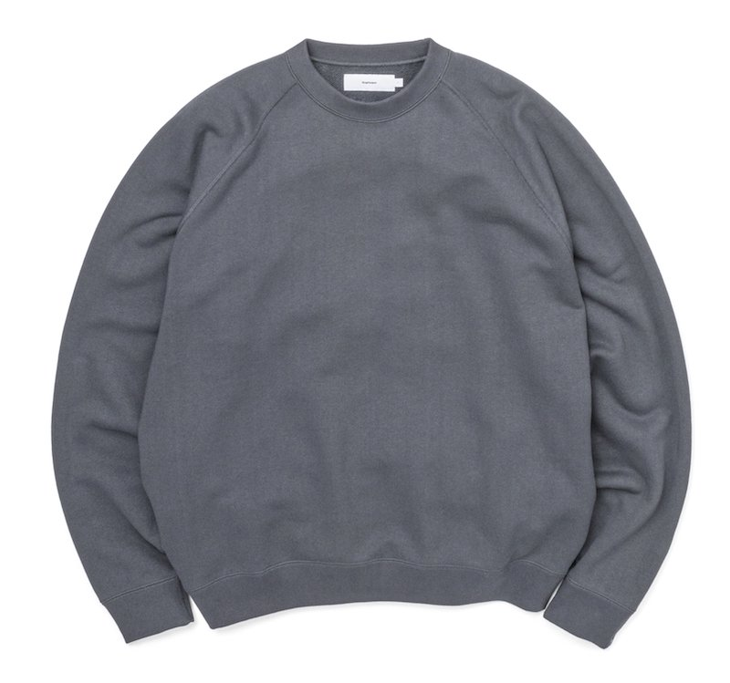 <img class='new_mark_img1' src='https://img.shop-pro.jp/img/new/icons8.gif' style='border:none;display:inline;margin:0px;padding:0px;width:auto;' />[Graphpaper] LOOPWHEELER for Graphpaper Raglan Sweat (各色)