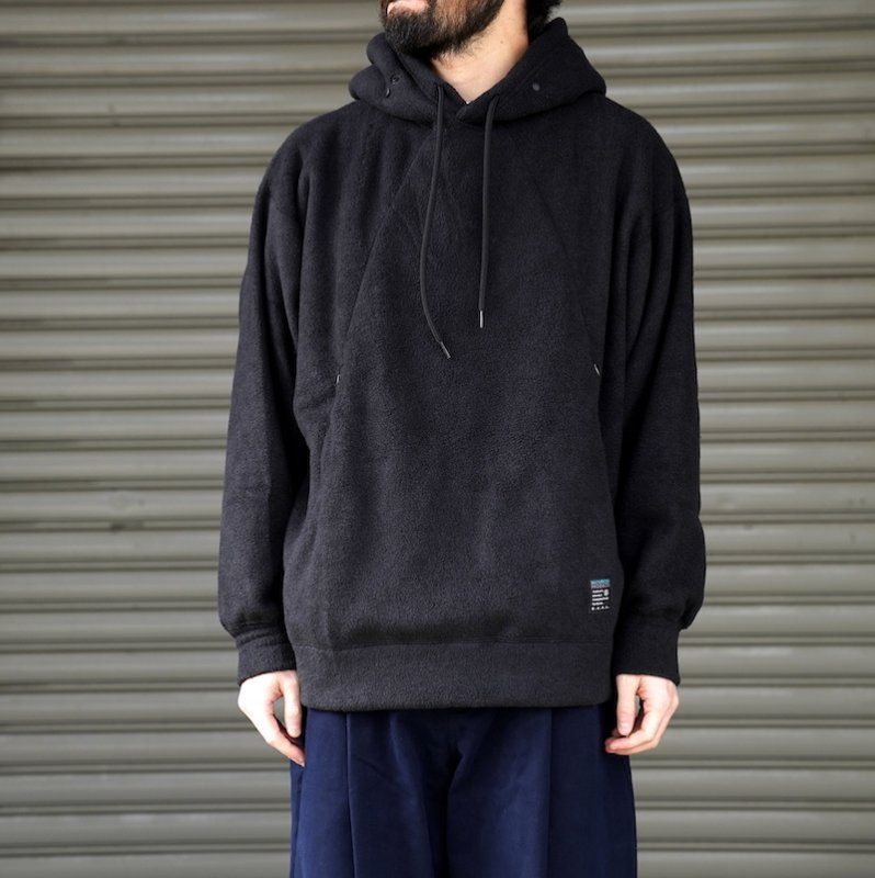 <img class='new_mark_img1' src='https://img.shop-pro.jp/img/new/icons8.gif' style='border:none;display:inline;margin:0px;padding:0px;width:auto;' />[O-] オー  WRITERS HOODIE  (BLACK)