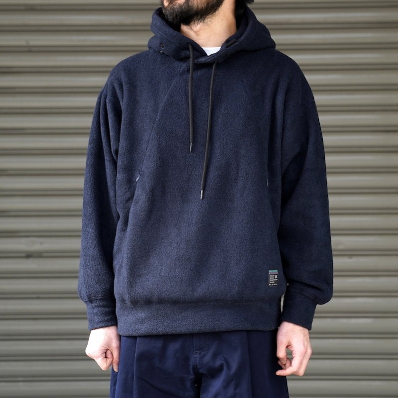 <img class='new_mark_img1' src='https://img.shop-pro.jp/img/new/icons8.gif' style='border:none;display:inline;margin:0px;padding:0px;width:auto;' />[O-] オー  WRITERS HOODIE  (NAVY)