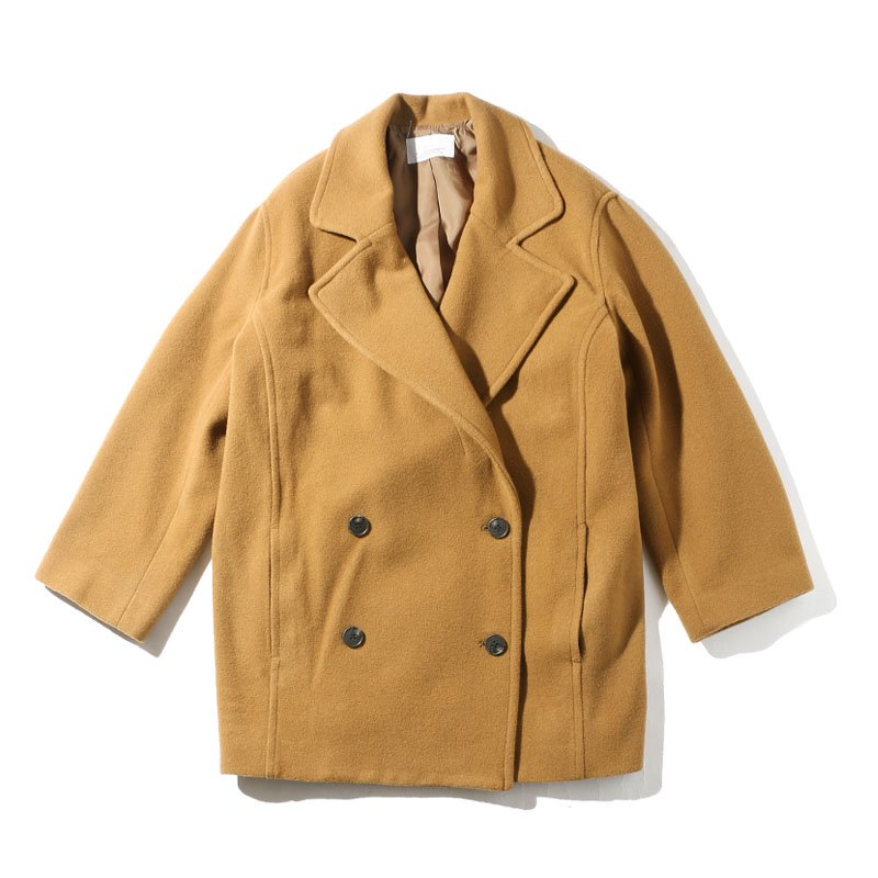 <img class='new_mark_img1' src='https://img.shop-pro.jp/img/new/icons24.gif' style='border:none;display:inline;margin:0px;padding:0px;width:auto;' />[SALE] [MY] マイCHESTER COAT (CAMEL・NAVY) 183-61701