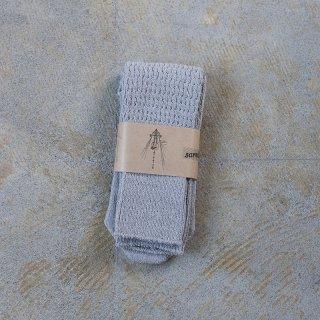 Tatou シルクコットンの靴下 クモ