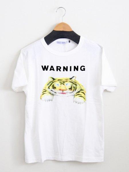 R&D.M.Co- メンズWARNING Tシャツ