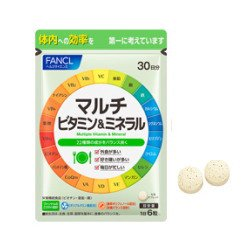 ファンケル マルチビタミン&ミネラル 180粒×3袋